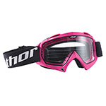 THOR MX Motocross ENEMY Youth Goggles (Pink)