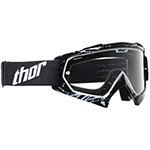 THOR MX Motocross ENEMY Youth Goggles (Splatter Black/White)