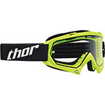 THOR MX Motocross ENEMY Youth Goggles (Fluorescent Green)