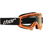 THOR MX Motocross ENEMY Youth Goggles (Fluorescent Orange)