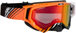 Arctiva VIBE Goggles (Black/Orange/White w/Dual Pane Yellow Lens)