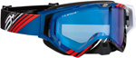 Arctiva VIBE Goggles (Black/Blue/Red w/Dual Pane Yellow Lens)