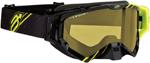 Arctiva VIBE Goggles (Black/Hi-Viz/Yellow w/Dual Pane Yellow Lens)