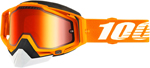 100% RACECRAFT Snow Goggles (Crush 2 w/Red Mirror Lens)