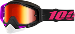 100% RACECRAFT Snow Goggles (Haribo 2 w/Red Mirror Lens)