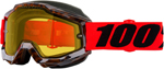 100% ACCURI Snow Goggles (Vendome w/Dual Pane Yellow Lens)