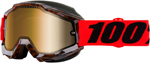 100% ACCURI Snow Goggles (Vendome w/Dual Pane Gold Mirror Lens)