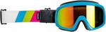Biltwell Inc Overland 2.0 Tri-Stripe Goggles (Pink/Green/Cyan)