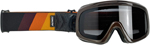 Biltwell Inc Overland 2.0 Tri-Stripe Goggles (Gold/Rust/Brown)
