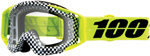 100% MX Motocross RACECRAFT Goggles (Andre w/Clear Lens)