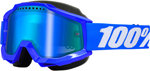100% Accuri Snow Goggles w/ Mirror Lens