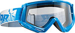 THOR MX Motocross 2016 CONQUER Goggles w/ Clear Anti-fog Lens (Blue/White)