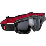 Biltwell Inc Overland Motorcycle Helmet Goggles (Black/Red)