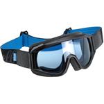 Biltwell Inc Overland Motorcycle Helmet Goggles (Black/Blue)