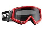 THOR MX Motocross 2017 COMBAT SAND Goggles (Red/Black)