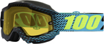 100% Snow Snowmobile ACCURI Goggles (R-CORE w/Anti-Fog Yellow Lens) Adult