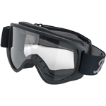 BILTWELL INC Moto 2.0 Motorcycle Helmet Goggles (Script Black/Grey)