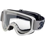 BILTWELL INC Moto 2.0 Motorcycle Helmet Goggles (Script Titanium/Black)