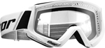Thor MX Motocross YOUTH Combat Goggles (White/Black)