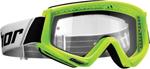 Thor MX Motocross YOUTH Combat Goggles (Flo Green)