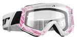 THOR MX Motocross COMBAT Goggles (CAP Pink/White)