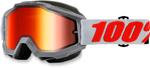 100% Snow Snowmobile ACCURI Goggles (Solberg w/Mirror Red Lens)