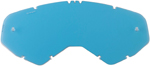 Moose Racing MX Off-Road Replacement Lens for XCR Goggles (Mirror Sky Blue)