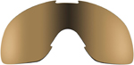 Biltwell Inc Replacement Lens for Overland & Overland 2.0 Goggles (Gold Mirror/Brown)