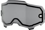 100% MX Motocross Dual Pane Lens for ARMEGA Goggles (Smoke)