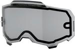 100% MX Motocross Vented Dual Pane Lens for ARMEGA Goggles (Smoke)