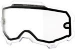 100% MX Motocross Vented Dual Pane Lens for ARMEGA Goggles (Clear)
