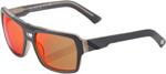 100% MX Motocross BURGETT Sunglasses (Spectrum Graphite Frame, Red Mirror Tint Lens)