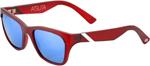 100% MX Motocross ATSUTA Sunglasses (Basin Frame, Blue Mirror Lens)