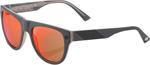 100% MX Motocross HIGGINS Sunglasses (Spectrum Graphite Frame, Red Mirror Tint Lens)
