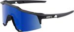 100% Eyewear SPEEDCRAFT Performance Sunglasses (Soft Tact Black w/Ice Mirror Lens)