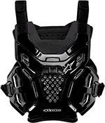 ALPINESTARS A-6 Chest Protector/Roost Guard MX ATV Off-Road (Black)