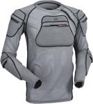 MOOSE Racing MX Motocross XC1 Body Armor Mesh Undershirt (Gray)