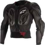Alpinestars MX/Motocross BIONIC Action CE Protection Jacket (Black/Red)