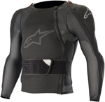 Alpinestars MX Motocross Sequence Soft-Shell Long Sleeve Protection Jacket (Black)