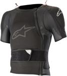 Alpinestars MX Motocross Sequence Soft-Shell Short Sleeve Protection Jacket (Black)