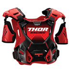 Thor MX Motocross Youth Guardian Roost Deflector/Back Protector (Red/Black)