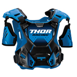 Thor MX Motocross Youth Guardian Roost Deflector/Back Protector (Blue/Black)