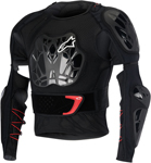 Alpinestars 2016 BIONIC TECH Protection Jacket (Black/Red)