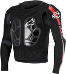 Alpinestars 2016 BIONIC PRO Protection Jacket (Black/Red)