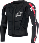 Alpinestars 2016 BIONIC PLUS Protection Jacket (Black/Red)