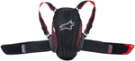 Alpinestars Nucleon KR-Y Youth Back/Kidney Protector CE Level 2 (Black/Red)