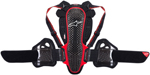 Alpinestars Nucleon KR-3 Back/Rib Protector CE Level 2 (Black/Red)