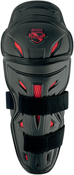 ICON Field Armor Stryker Motorcycle Knee/Shin Guards (Black)