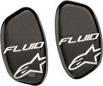 ALPINESTARS Hinge Cover Stickers for Fluid Pro & Fluid Tech Carbon Knee Brace