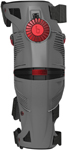 MOBIUS Motocross Offroad X8 Knee Brace Set (Storm Grey/Crimson Red)